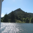 Whanganui River NZ up ahead